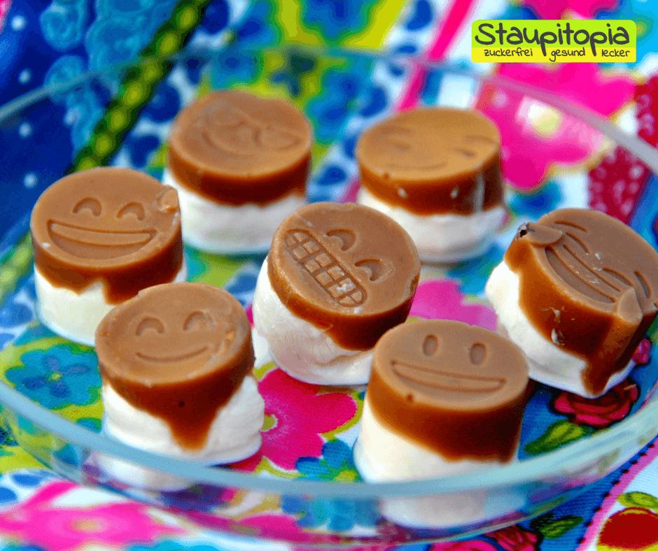Low Carb Latte Macchiato FroYo Bites – Eis Happen aus nur 3 Zutaten