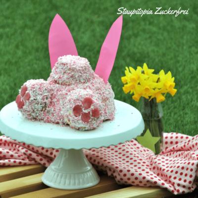 Low Carb Hasenpopo Torte: Die niedliche Torte für Ostern