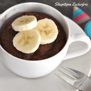 5 Minuten – 4 Zutaten: Low Carb Tassenkuchen