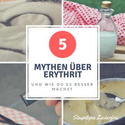 5 Mythen über Erythrit und wie du es besser machst!