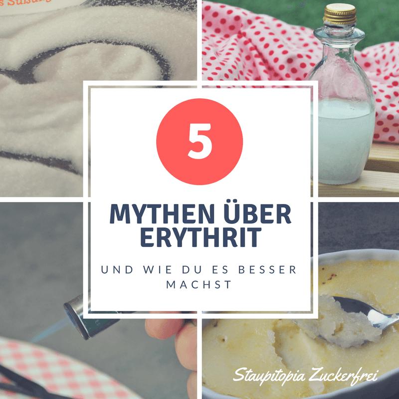 5 Mythen über Erythrit und wie du besser mit Erythrit backen kannst!