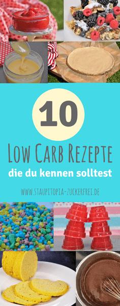 Diese 10 Low Carb Rezepte bringen Abwechslung in deinen Alltag! Einfach, schnell und gelingsicher - Diese Low Carb Rezepte machen Lust zum Nachmachen!