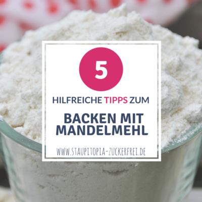 5 hilfreiche Tipps zum Backen mit Mandelmehl