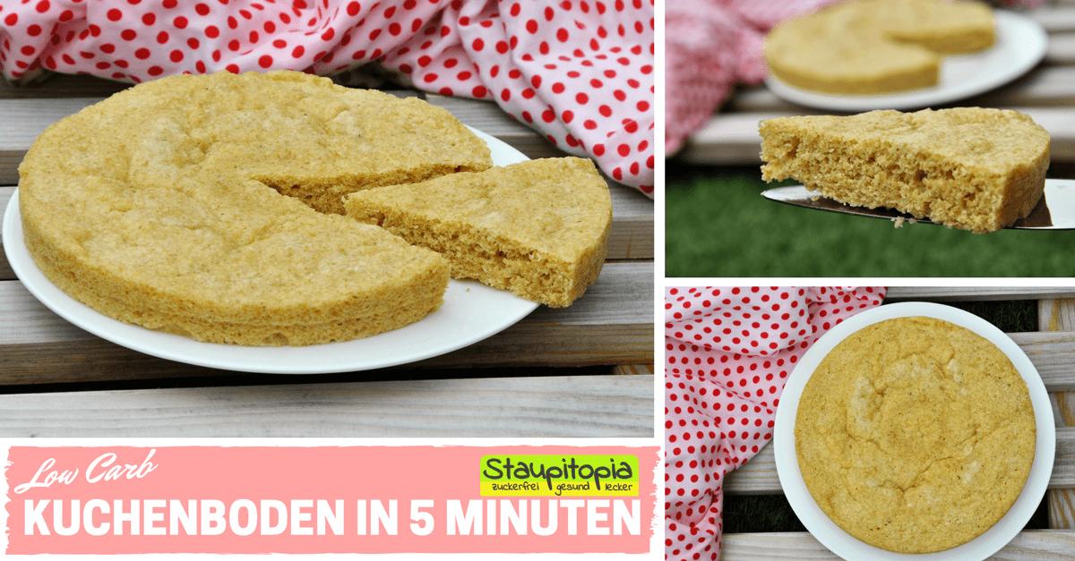So Machst Du Einen Low Carb Kuchenboden In 5 Minuten Staupitopia