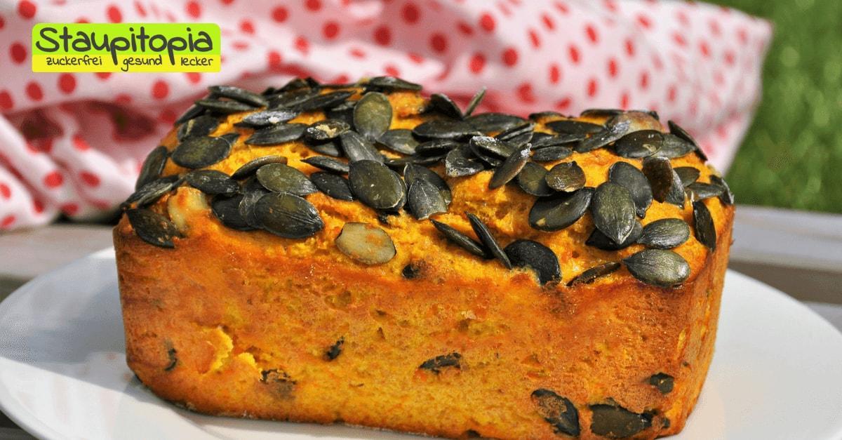 Perfekt im Herbst: Kürbisbrot ohne Mehl