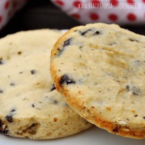 90 Sekunden Low Carb Chocolate Chip Cookies