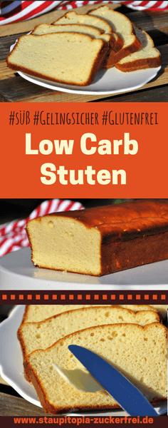 Versüße dir dein Low Carb Frühstück mit diesem einfachen Low Carb Brotrezept! Der Low Carb Stuten schmeckt hervorragend einfach nur zusammen mit Butter. Er ist einfach nachzumachen und perfekt für alle geeignet, die gerne auch mal ein süßes Low Carb Frühstück genießen! Hol dir jetzt das Rezept auf www.staupitopia-zuckerfrei.de #lowcarbbrot #brotersatz #lowcarbstuten #lowcarbfrühstück #kokosmehl #mandelmehl #proteinpulver #erythrit #staupitopia