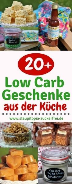 20+ Low Carb Geschenke aus der Küche - Staupitopia Zuckerfrei