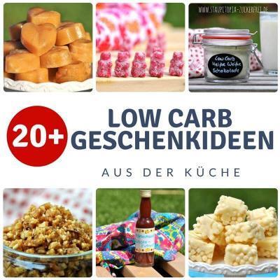 20+ Low Carb Geschenke aus der Küche