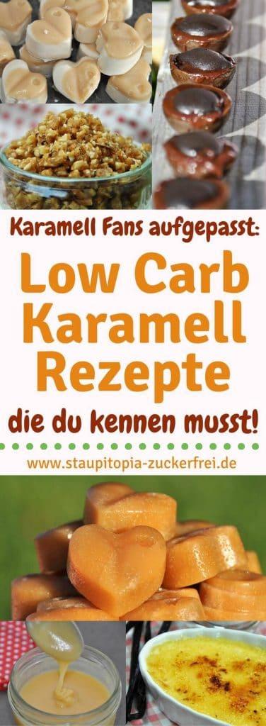 Wenn du schon immer ein Fan von Karamell warst, dann werden dich diese Low Carb Karamell Rezepte begeistern! Egal ob selbstgemachte Karamell-Bonbons, Karmellsoße, Krokant oder auch Creme Brulee - all diese köstlichen Naschereien lassen sich auch Low Carb herstellen. In meiner Rezeptsammlung der besten Low Carb Karamell Rezepte erfährst du, wie du diese und noch weitere Low Carb Karamell Rezepte ganz einfach selber machen kannst.