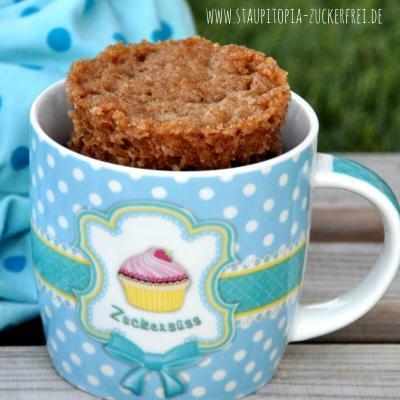 Schnell und einfach zur Weihnachtszeit: Low Carb Lebkuchen Tassenkuchen