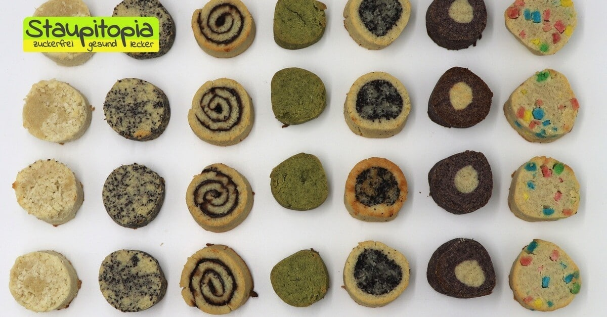 Low Carb Kekse von der Rolle: Der Grundteig