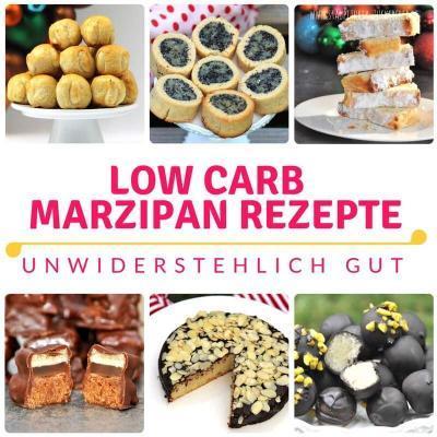 7 überraschend einfache Low Carb Marzipan Rezepte