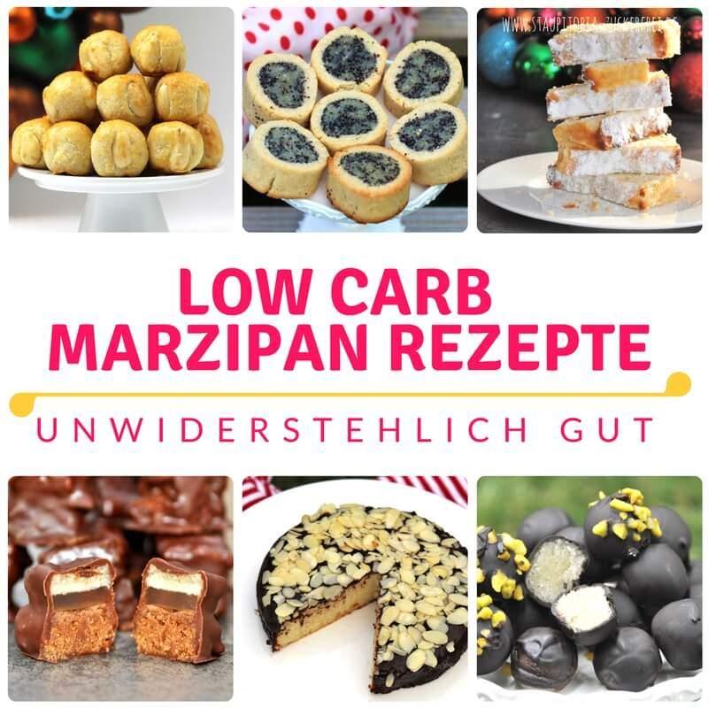 Low Carb Marzipan Rezepte kann es nicht genug geben. Du backst auch gerne mit Marzipan? Diese Low Carb Marzipan Rezepte werden dich begeistern