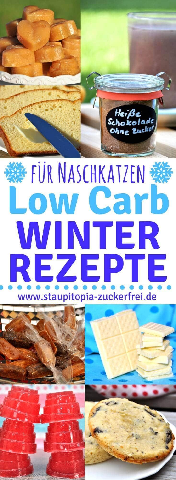 Der Winter ist da und es regnet, stürmt und ist ungemütlich? Da kommen diese Low Carb Winter Rezepte für kalte Tage wie gerufen!