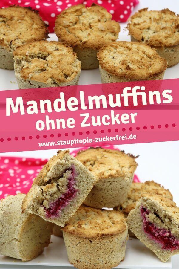 Mandel Muffins ohne Mehl | Low Carb Backen und Naschen