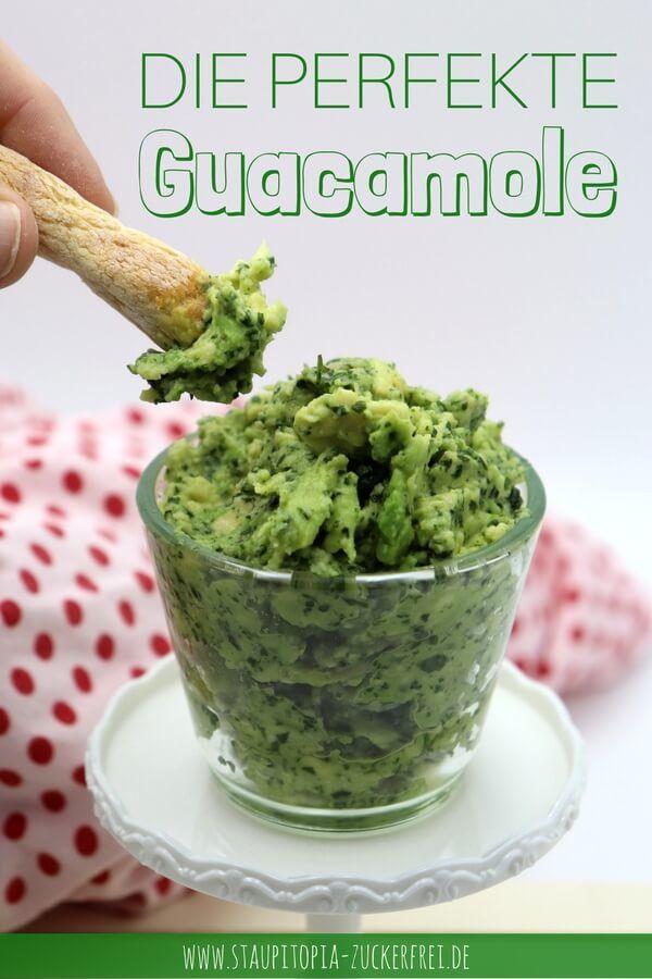 Rezept für die perfekte Guacamole.