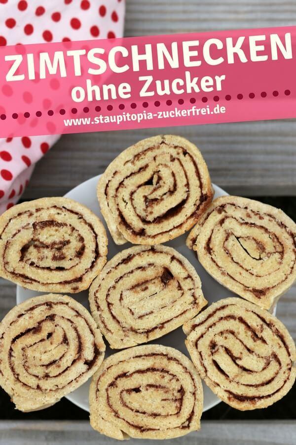 Gesunde Low Carb Zimtschnecken Rezept