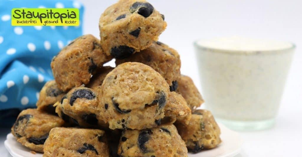 Herzhafte Low Carb Muffins ohne Mehl schnell und einfach backen.