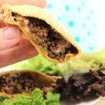 Low Carb Cheeseburger Taschen - Fingerfood selber machen