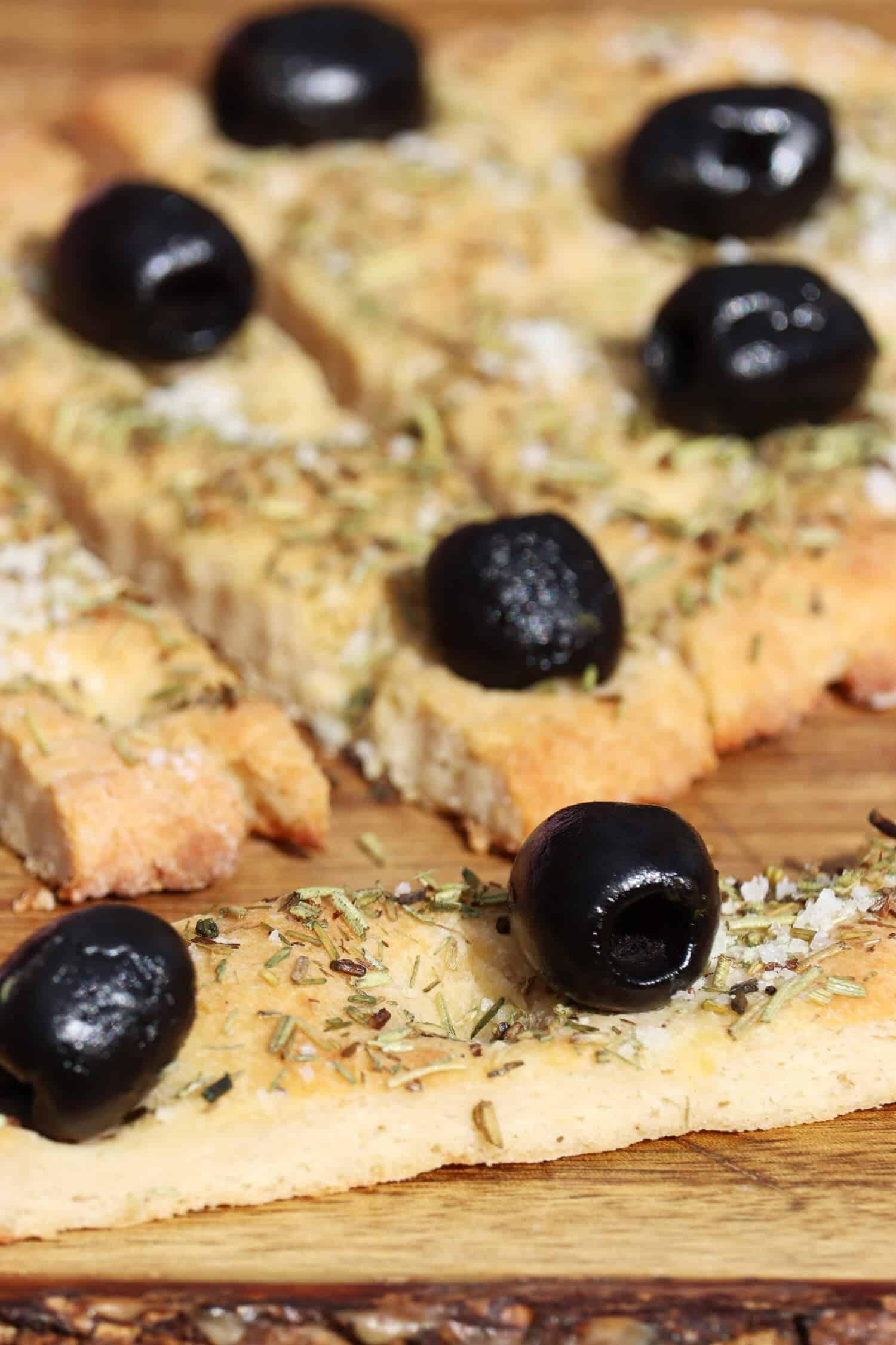 Low Carb Olivenbrot ganz einfach selber machen