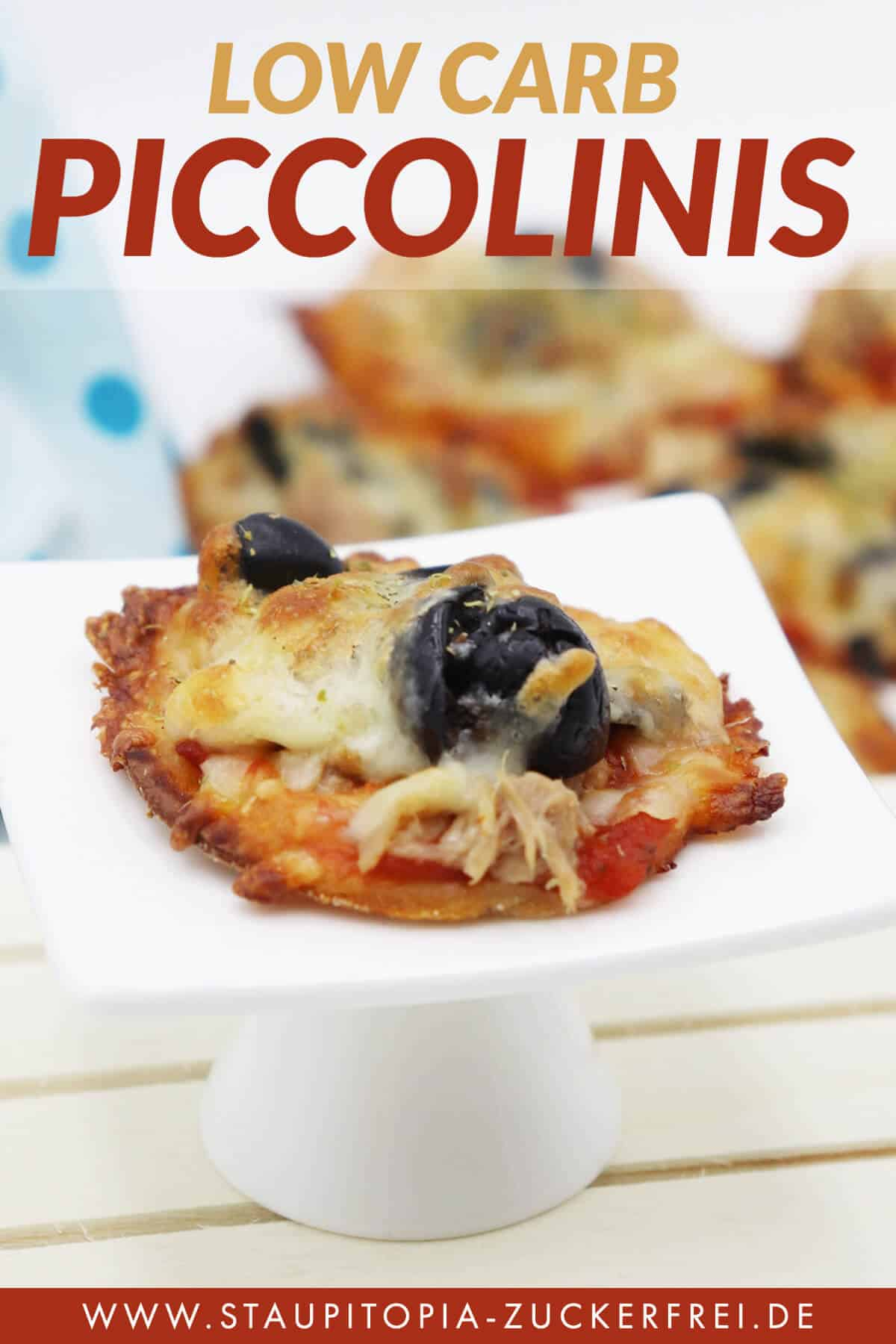 Low Carb Piccolinis Die Mini Pizzen Ohne Kohlenhydrate