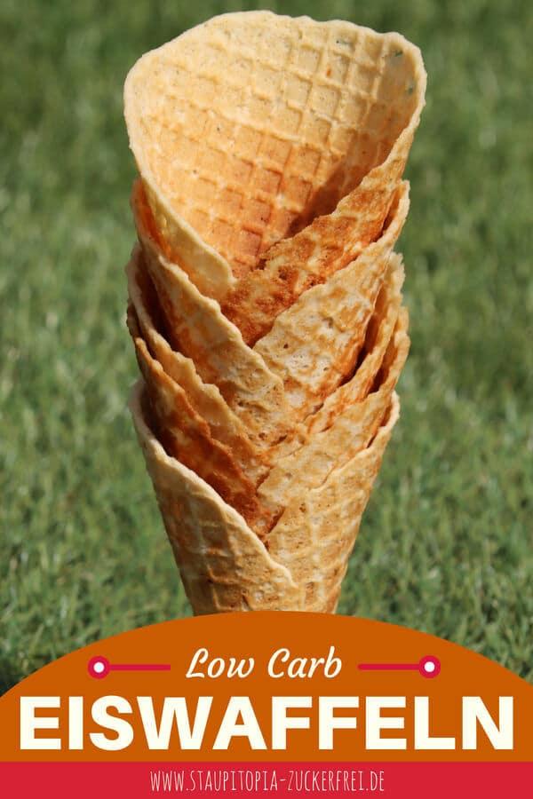 Du wolltest dein selbstgemachtes Low Carb Eis schon immer wie aus der Eisdiele genießen? Mit diesem Rezept für knusprige und glutenfreie Low Carb Eiswaffeln ist das ab sofort möglich.