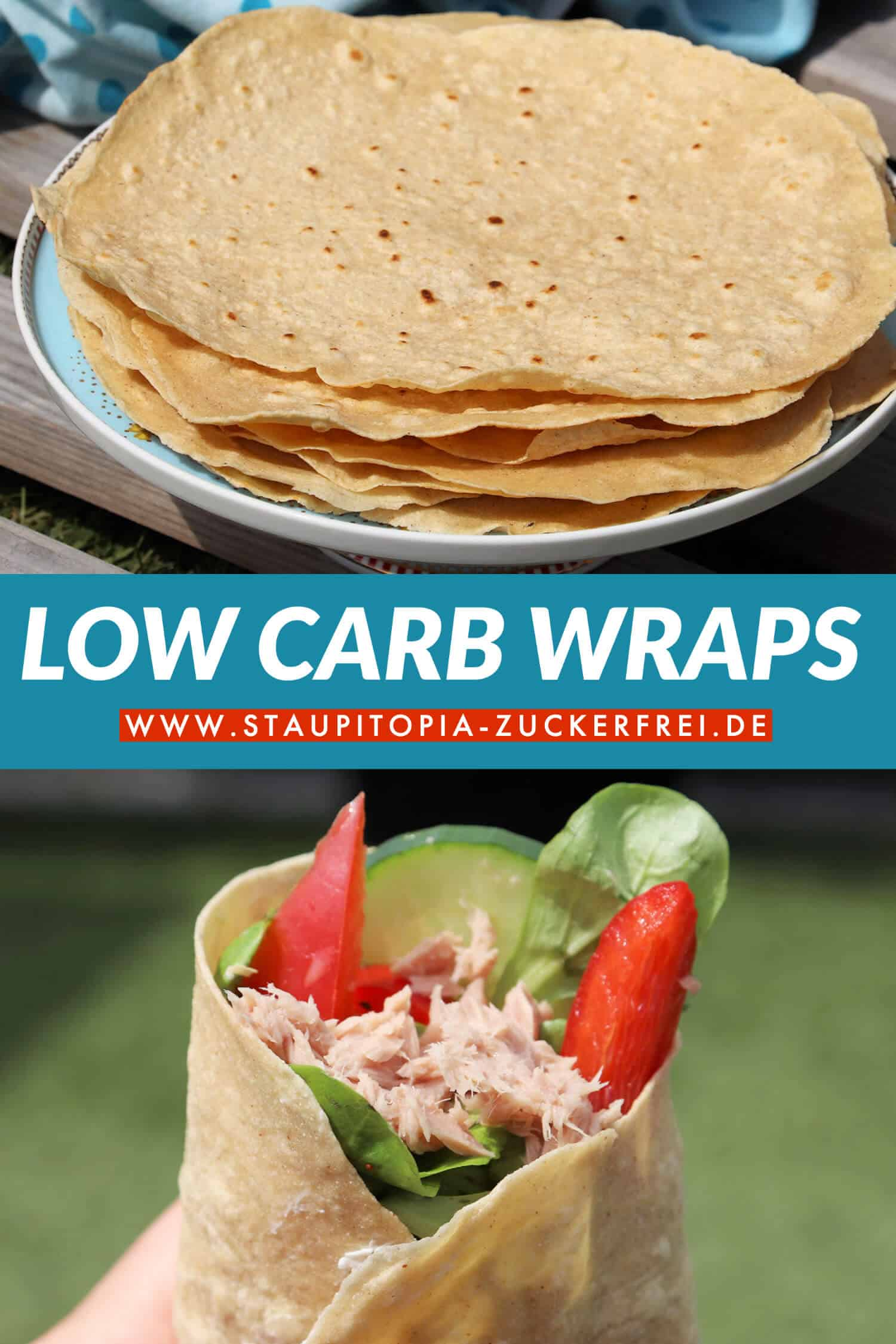 Das Rezept für diese Low Carb Wraps ist wirklich fantastisch, denn diese selbstgemachten Low Carb Wraps machen ihren kohlenhydrat-reichen Pendant ernst zunehmende Konkurrenz.