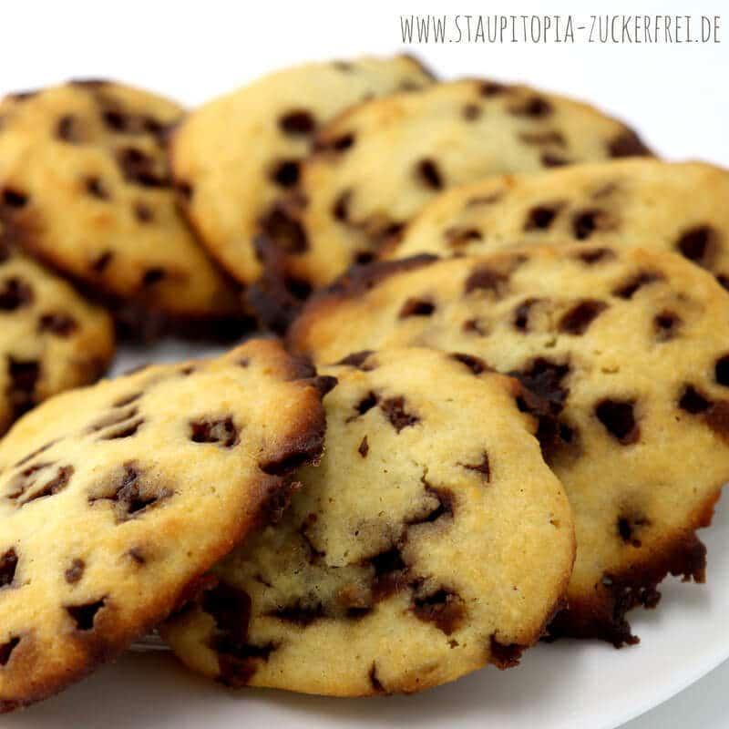 Low Carb Cookies mit Karamell