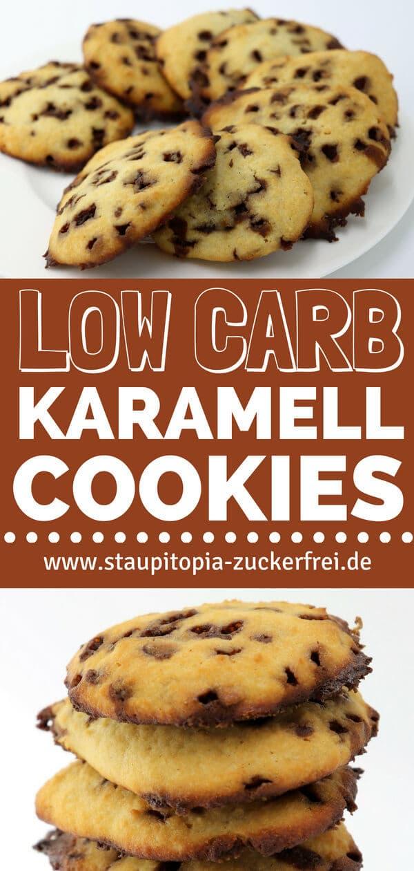 Low Carb Cookies mit Karamell selbst machen