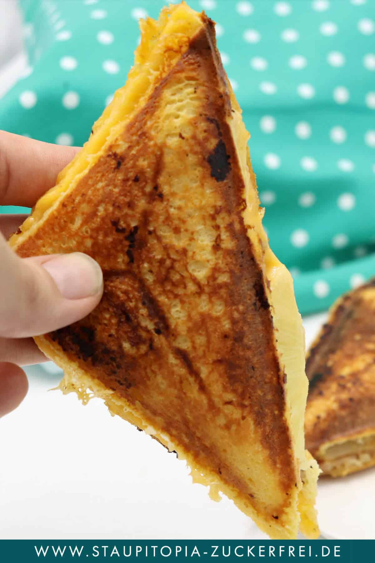 Low Carb Sandwich zum Abendessen Rezept