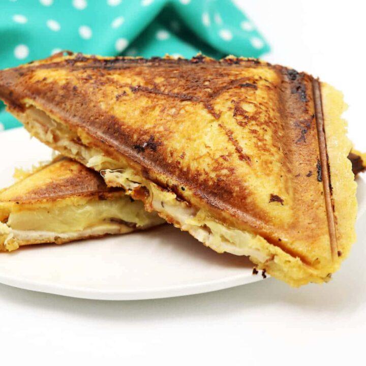 Low Carb Toast Hawaii Rezept
