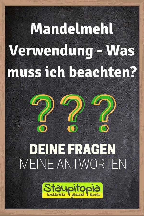 Fragen und Antworten zum Thema Backen mit Mandelmehl: Mandelmehl Verwendung - Was muss ich beachten?