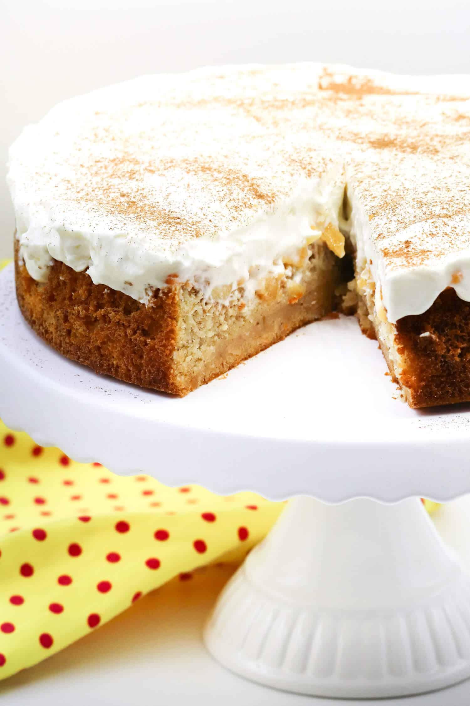 Rezept für einen Low Carb Fanta Kuchen ohne Zucker