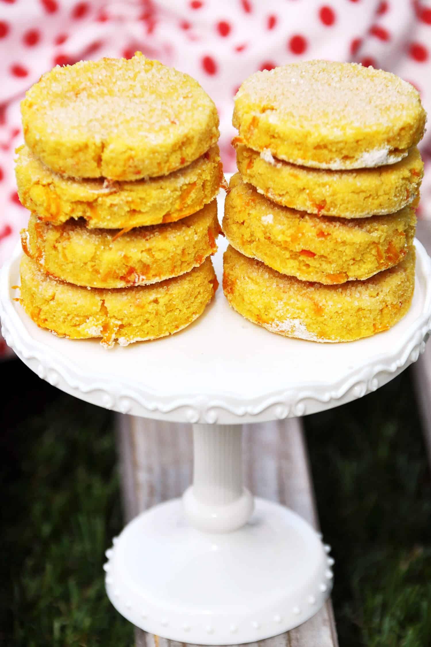 Rezept für Low Carb Kürbis Plätzchen, Kekse bzw Cookies ohne Zucker.