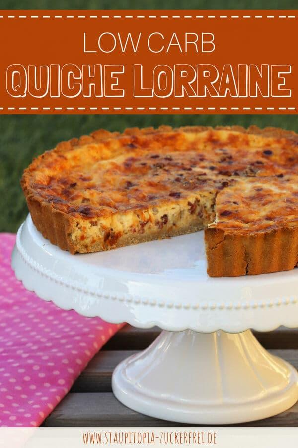 Rezept für einen Low Carb Quiche Lorraine
