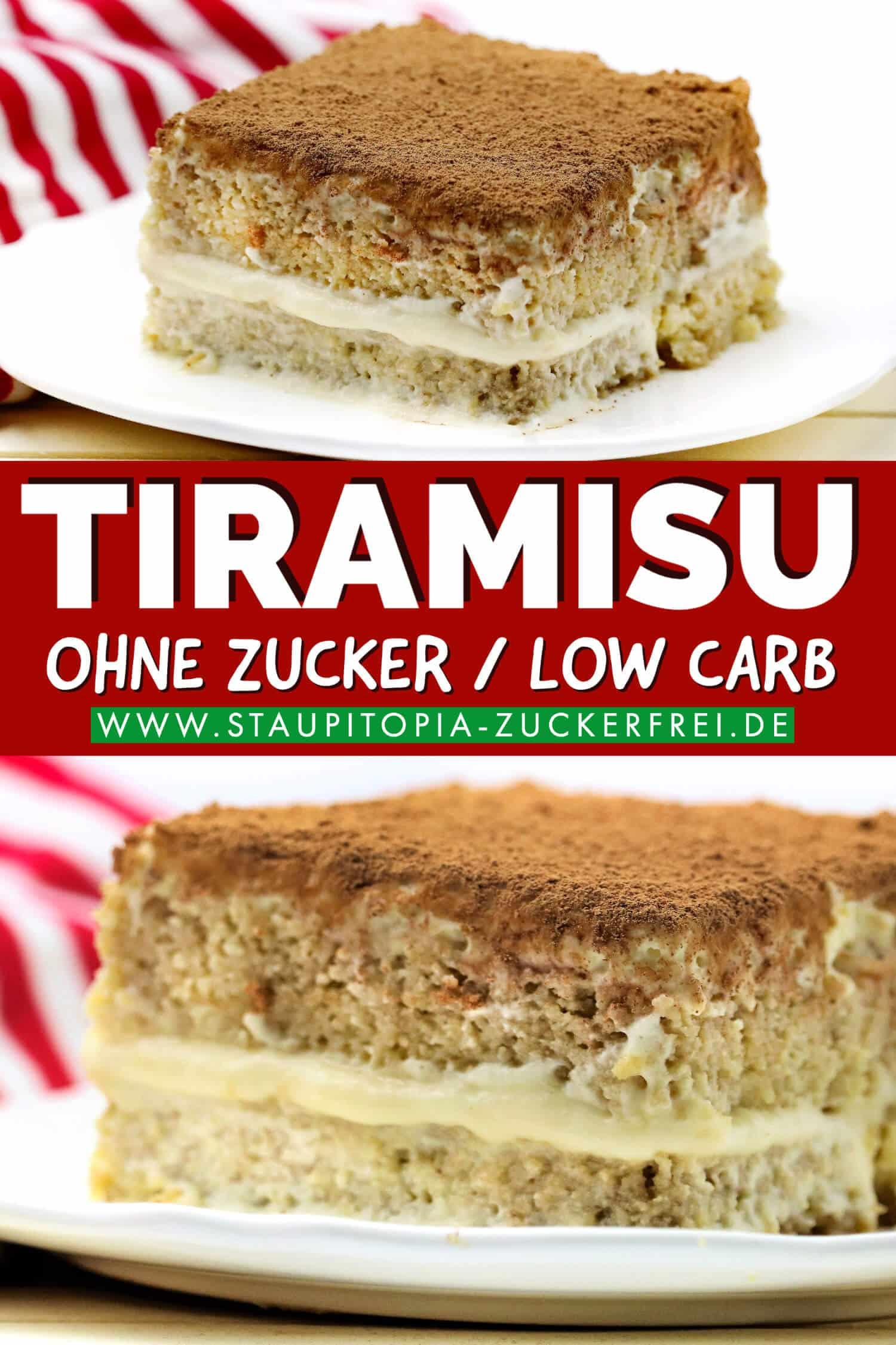 Low Carb Tiramisu ohne Zucker selbst machen.
