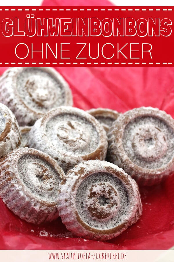 Bonbons ohne Zucker für Weihnachten