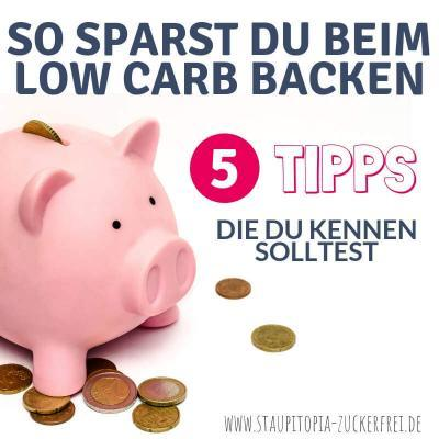So sparst du beim Low Carb Backen bares Geld