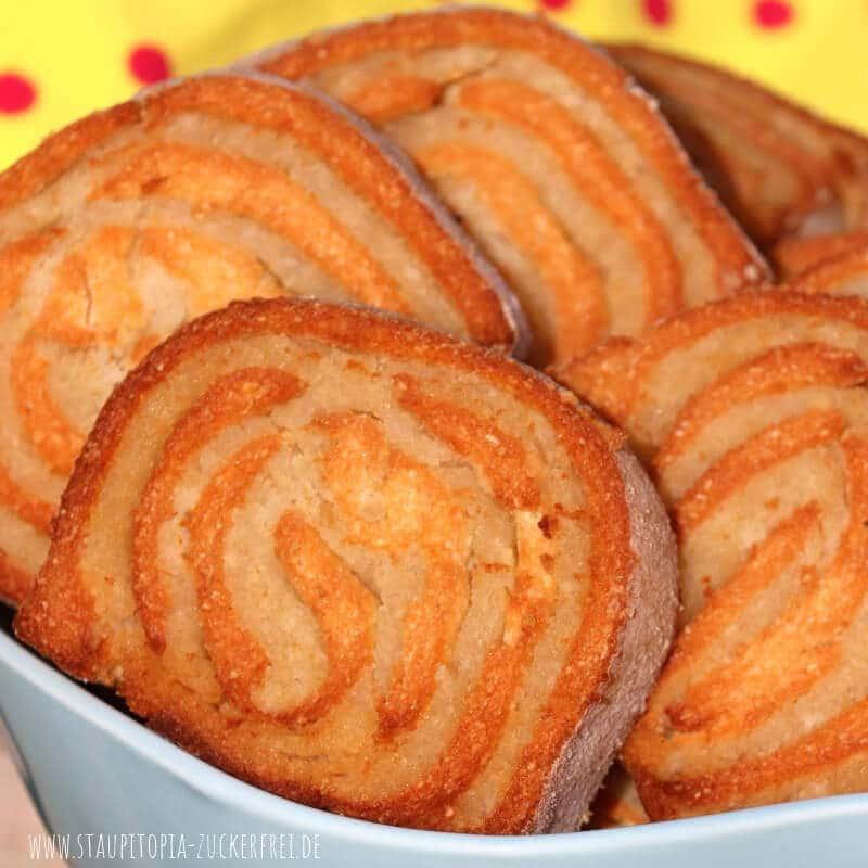 Low Carb Kekse mit Marzipan backen ohne Mehl.