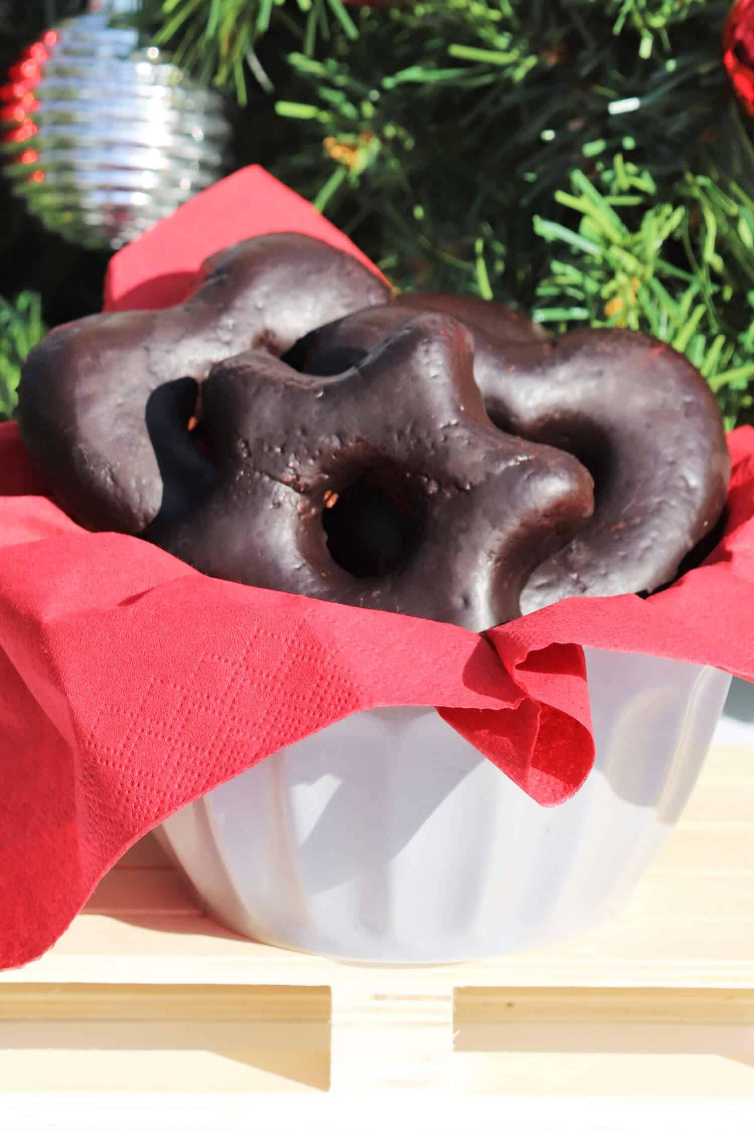 Low Carb Lebkuchen mit Mandelmehl und Erythrit