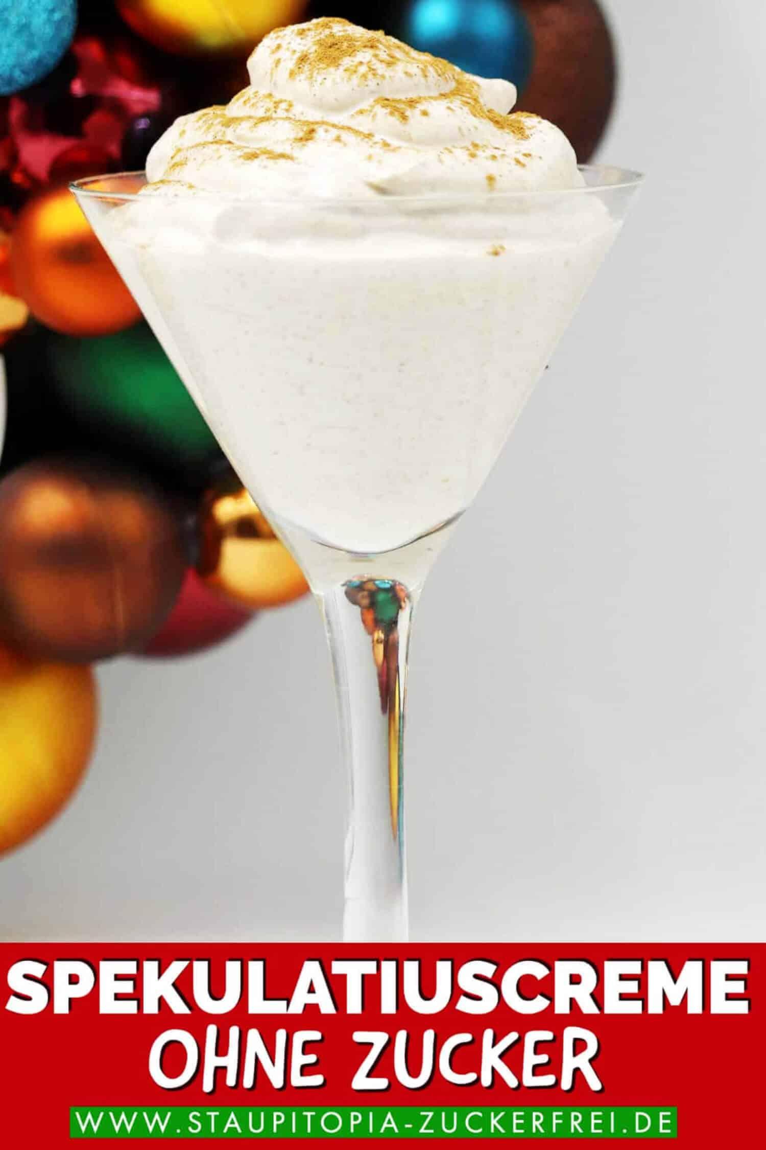 Low Carb Spekulatius Dessert für Weihnachten