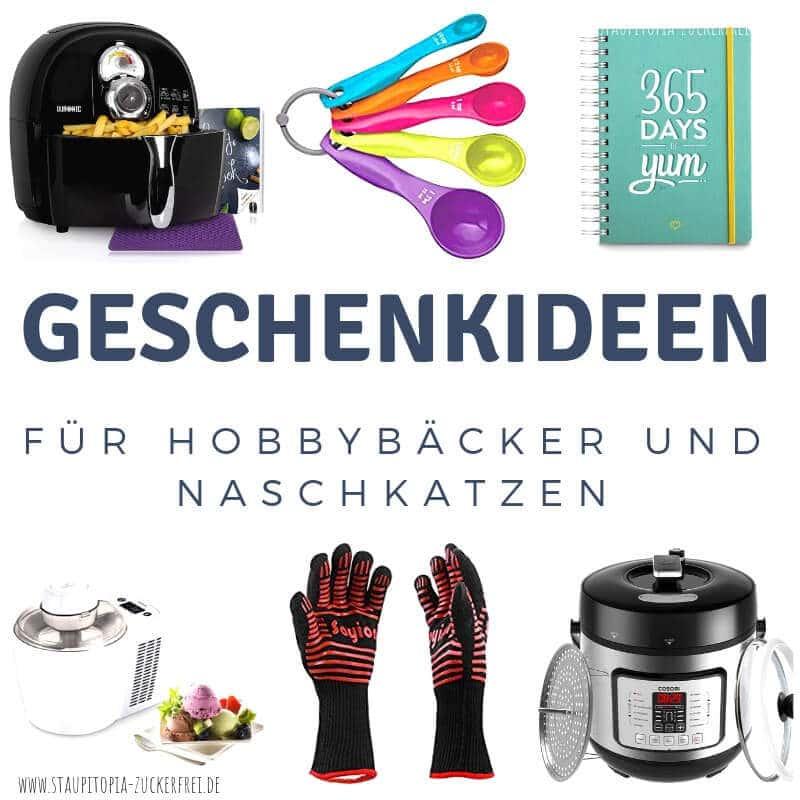 Du suchst Geschenke für Backfans? Dann findest du hier passende Geschenkideen für Hobbybäcker und Naschkatzen.