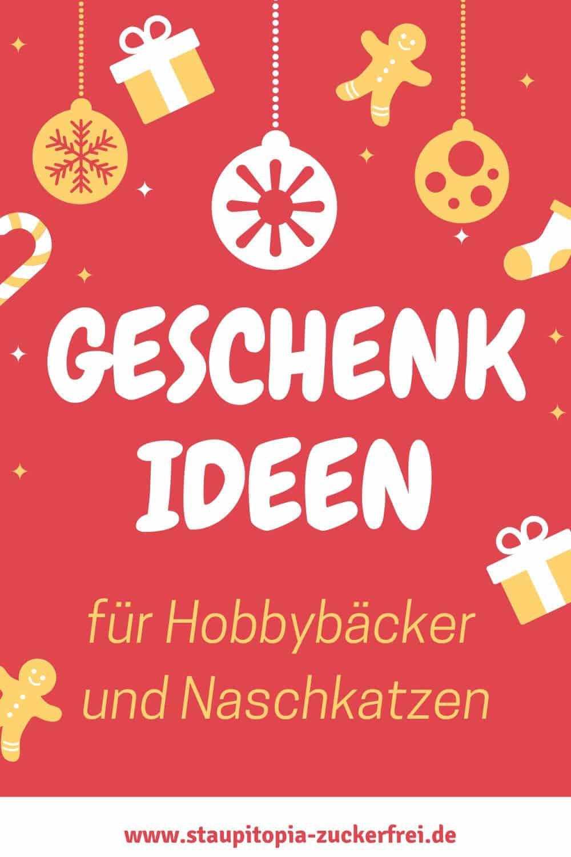 Du suchst Geschenkideen für Weihnachten, Geburtstage oder andere Anlässe? Dann findest du hier passende Geschenke für Hobbybäcker und Naschkatzen.