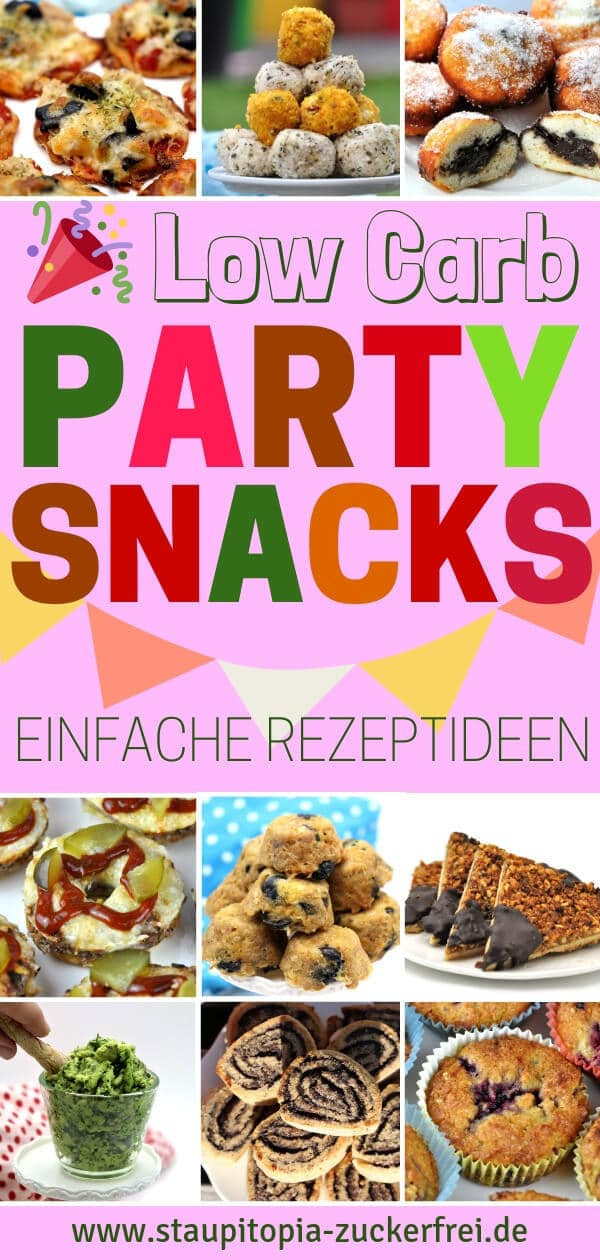 Low Carb Party Snacks schnell und einfach selber machen