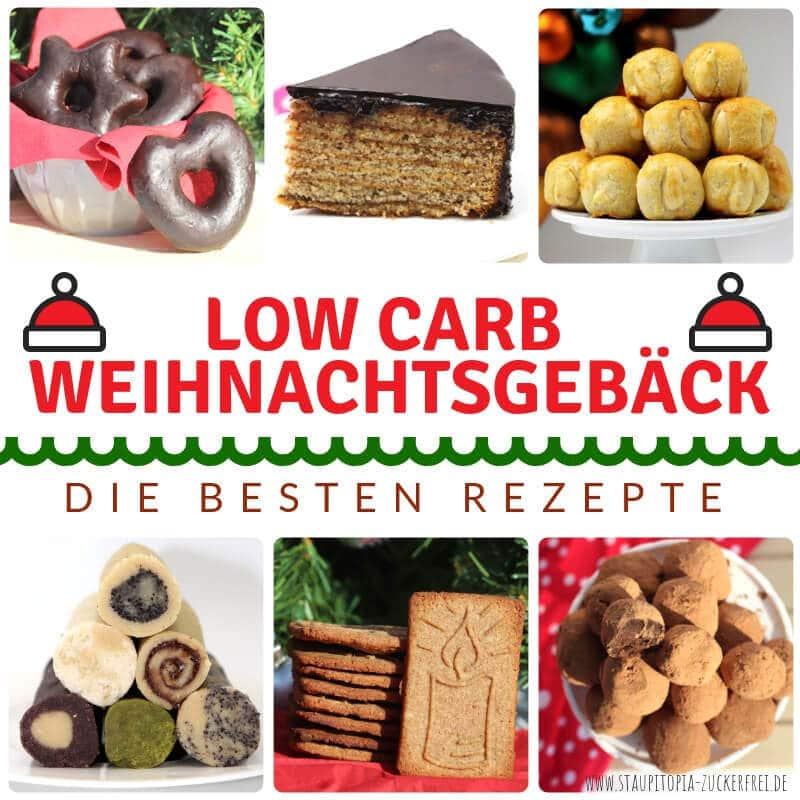 Low Carb Rezepte zum Backen für Weihnachten