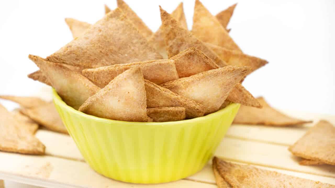 Rezept für Low Carb Chips aus 2 Zutaten