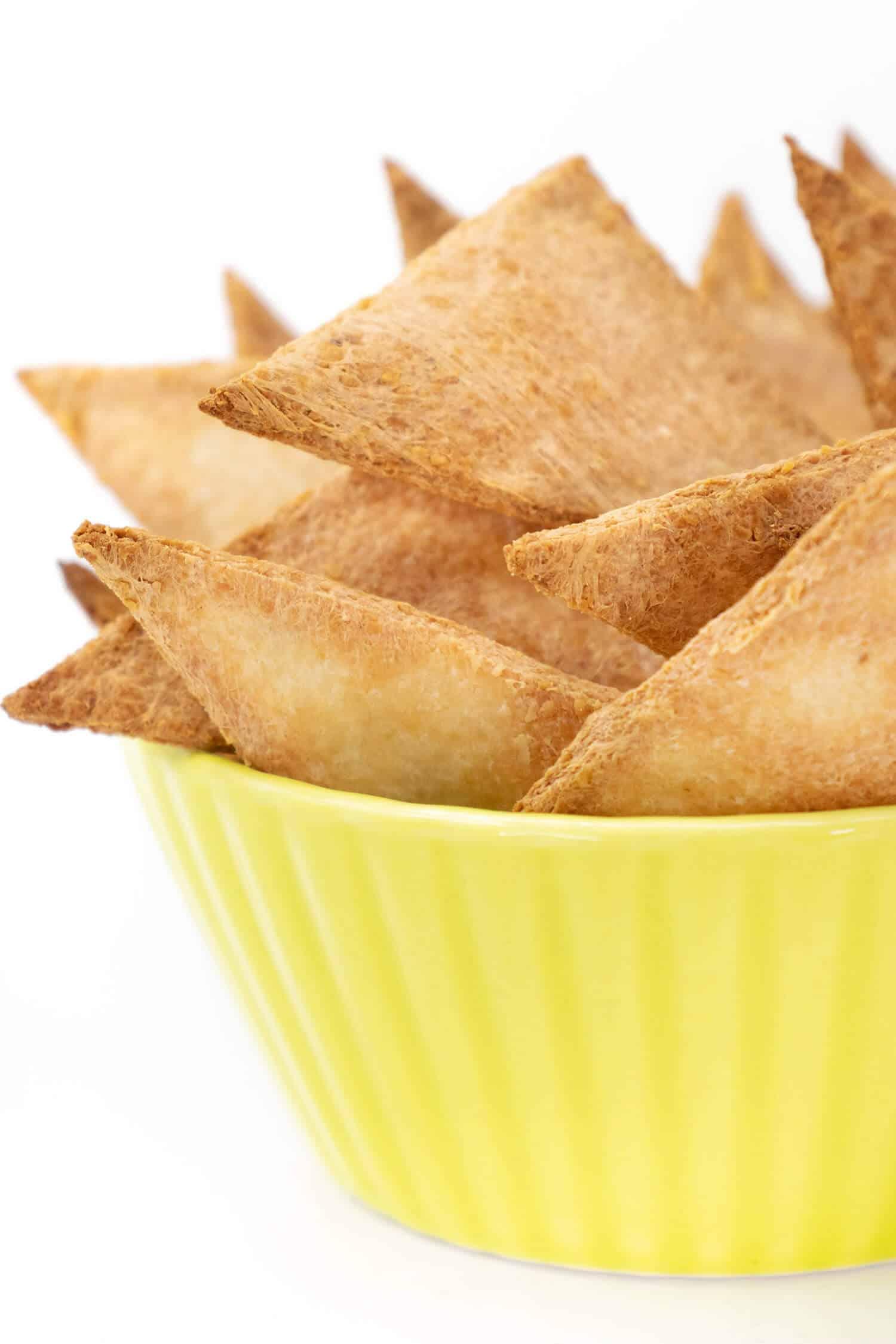 Rezept für Low Carb Nachos aus 2 Zutaten