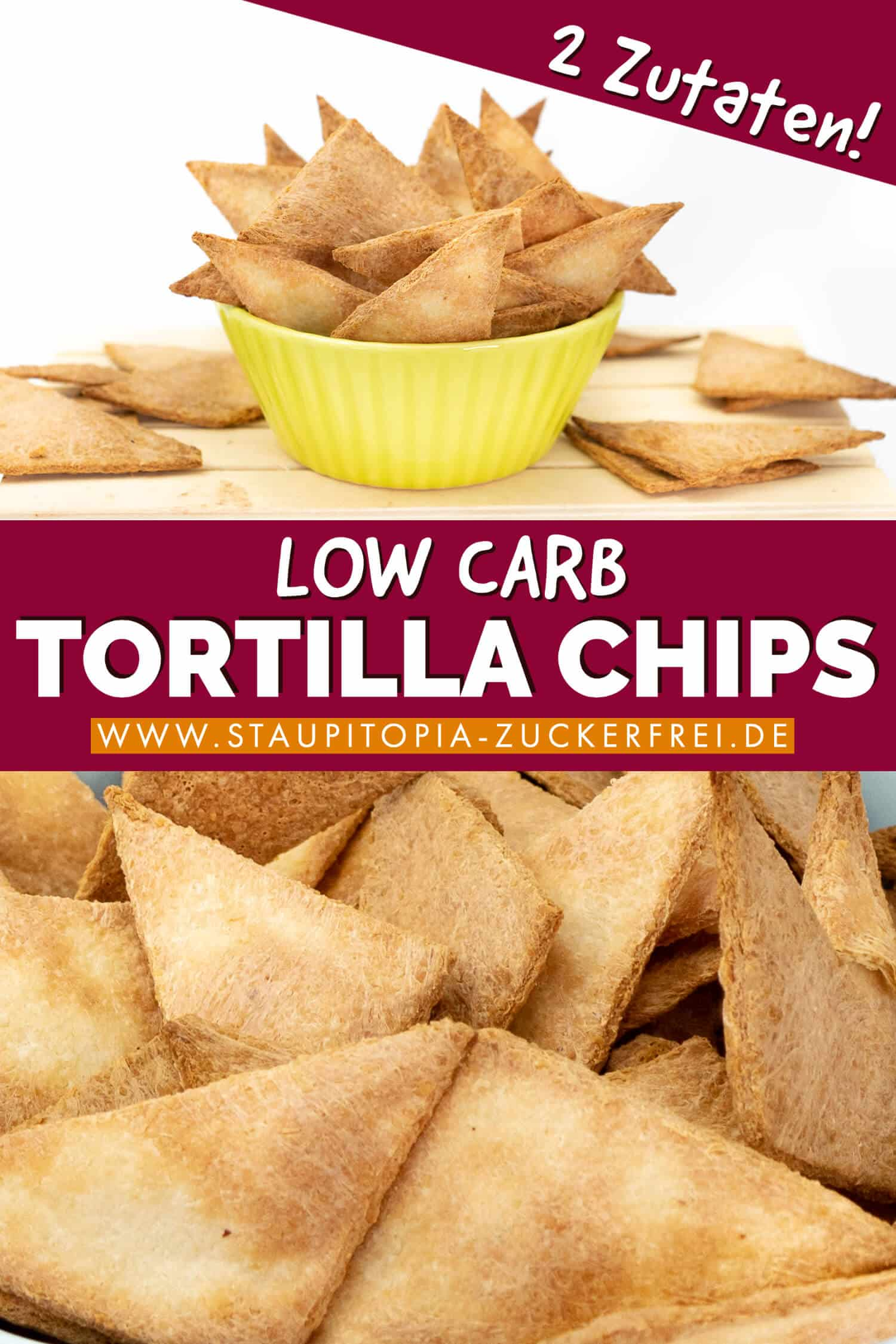 Low Carb Tortilla Chips selbst machen