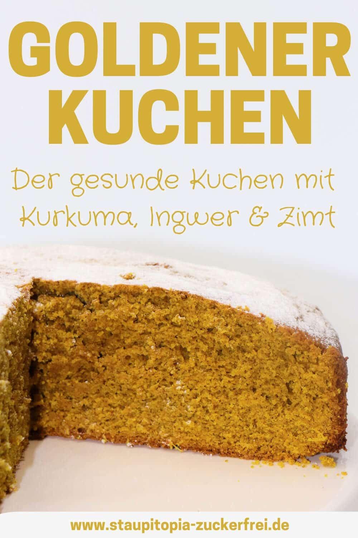 Rezept für einen gesunden Kuchen ohne Mehl und Zucker